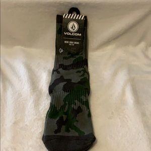 🆕Volcom Army Camo Vibes Socks